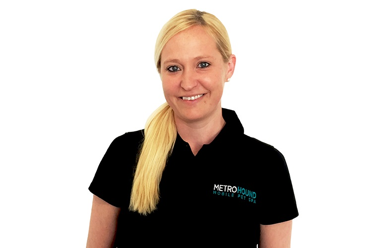 Katie McMillan, Manager, MetroHound Mobile Pet Spa for Dogs and Cats